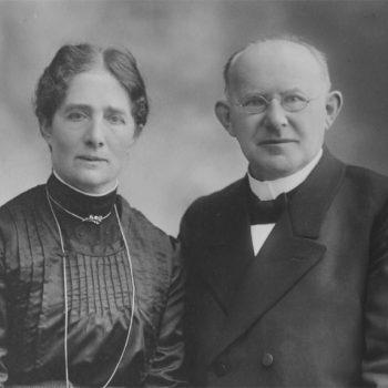 Luise Griebel, geb. Rihm (29.11.1865–31.12.1936) und Georg Peter Griebel (5.8.1861–19.12.1937).