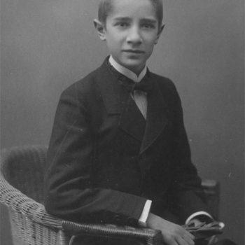 Fritz Griebel um 1914.